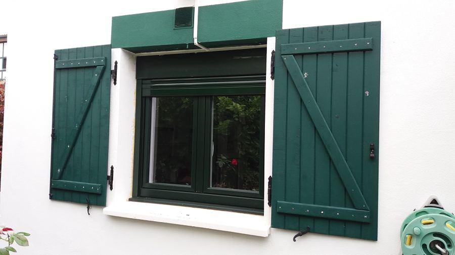 Cambio de ventanas PVC con salida al jardín – margen derecha Bizkaia