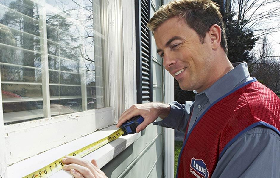 ¿Vamos a tu casa para medir solo una ventana?