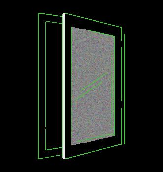 ventana pvc practicable abatible